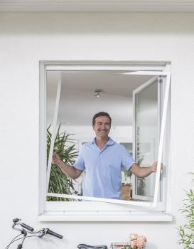 Spannrahmen für Fenster SP 1.43 mit starrer Winkellaschenmontage